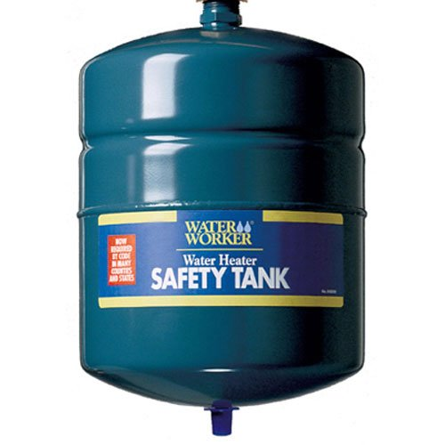 WaterWorker G-12L Tank without Valve Water Heater Expansion Safety Tank, 4.4-Gallon Capacity, Green (Cold Water Expansion Tank)