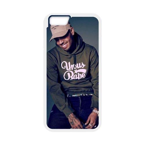 "6SCase.com-16712-Custom Chris Brown Iphone6 Plus Cover Case, Chris Brown Customized Phone Case for iPhone 6 plus 5.5"" at Lzzcase-B01AXTLL4G"
