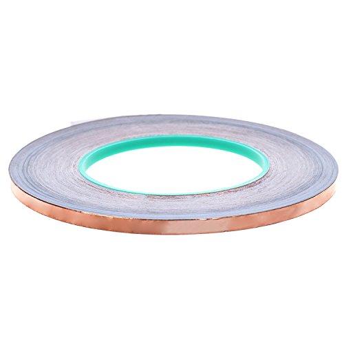 BCP Double Conductive EMI Shielding Copper Foil Tape- 1/4 Inch X 55 ()