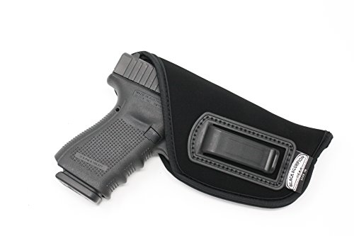 Px4 Storm 9 Mm - Black Scorpion IWB Neoprene Holster - Made USA - Fits Glock 19 17 21 22 31 / Walther P99,Walther PPQ/Ruger SR9/SR40/Beretta PX-4 Storm/M&P 9/40 4-inch,S&W Most 5900/4000 - All Similar Handguns