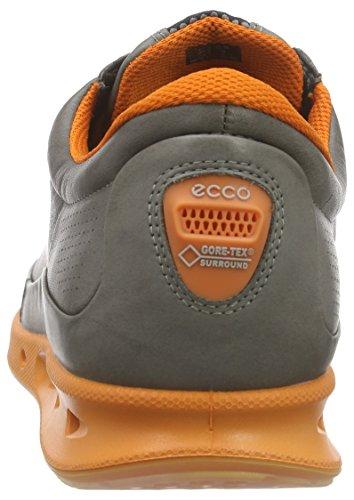 Ecco Koele Mannen Outdoor Fitness Schoenen Grijs (warm Grijs / Oranje 59556)