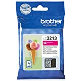 Brother LC3213C/LC3213M/LC3213Y/LC3213BK Inkjet Cartridges, Multi Pack, Standard Yield, Cyan, Magenta, Yellow and Black, Brother Genuine Supplies