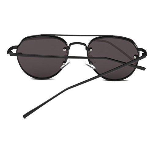 Aoligei Aucun cadre siamois shing hommes et les femmes ne pilotes lunettes de soleil volant couleur lunettes de soleil lunettes de soleil de Film YxNES6gPnz