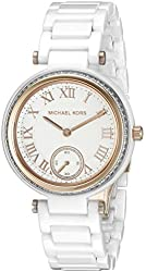 Michael Kors Women's Mini Skylar White Watch MK6240