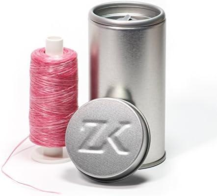 Polyester Zahnseide Rosa gewachst (Dose + 200 m)