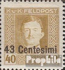 Prophila Collection Österr.-Feldpost Italien 12B gezähnt L11,5 1918 Karl I. (Briefmarken für Sammler)