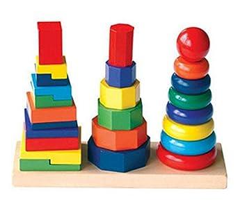 Amazon.com: , juguetes educativos,, juguete de madera ...
