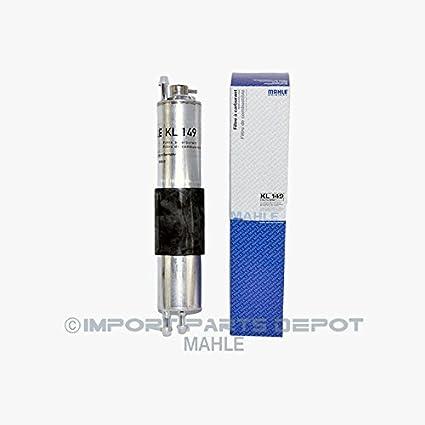 amazon com: bmw fuel filter + fuel pressure regulator mahle original oem  kl149 / 13327512019: automotive