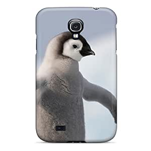 Durable Defender Case For Galaxy S4 Tpu Cover(baby Penquin)