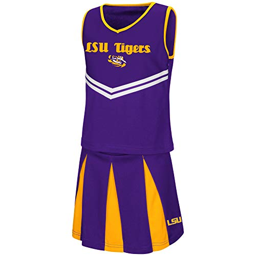 Colosseum Youth NCAA-Girls Cheer Set-LSU Tigers-Youth Medium]()