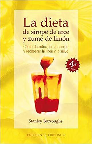 dieta de sirope fuerza y limon