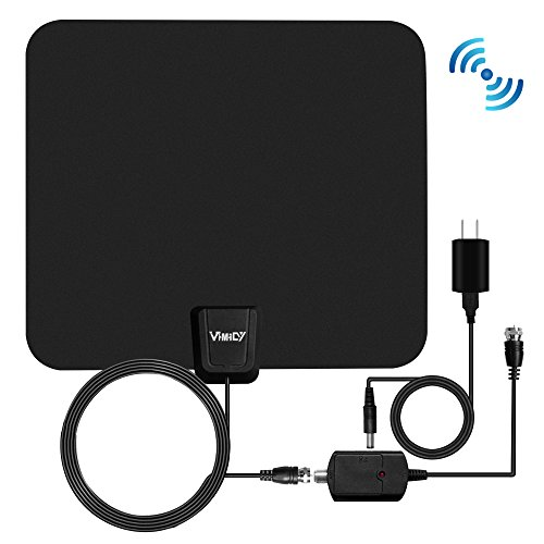 2017 Model TV Antenna - 50 Miles Digital Antenna Indoor - Sm