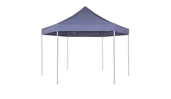 Fijo Night 1, 8 x 1, 8 m artenzelt de cenador plegable de Pop Up plegable tienda plegable Seis rectangular impermeable, azul: Amazon.es: Jardín