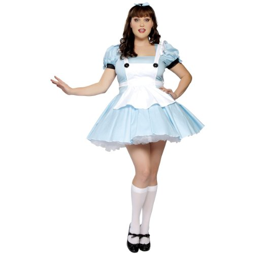 Alice in Wonderland Adult Costume - X-Large