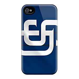 DannyLCHEUNG Iphone 4/4s Excellent Cell-phone Hard Covers Customized Vivid San Diego Padres Image [duH7832GSYj]
