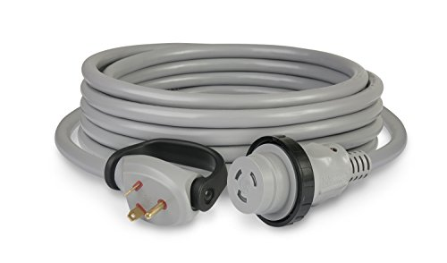 ParkPower by Marinco 30 Amp, 125V RV Cordset, Gray, 50' ()