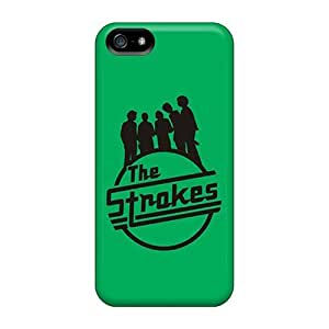 New Diy Design The Strokes Green Logo For Iphone 5/5s Cases Comfortable For Lovers And Friends For Christmas Gifts