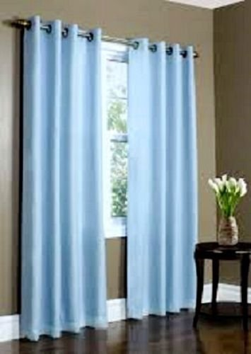 Light Blue Curtains Or Drapes - 6