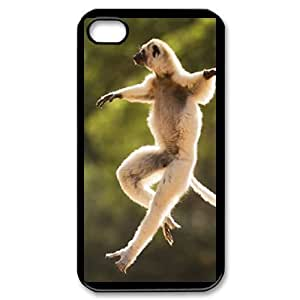 Hard Shell Case Of Monkey Customized Bumper Plastic case For Iphone 4/4s