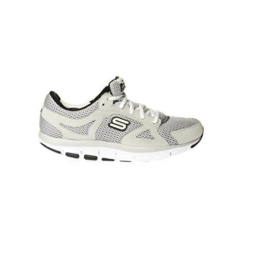 Skechers - Zapatillas para hombre multicolor GRAY/BLACK 41