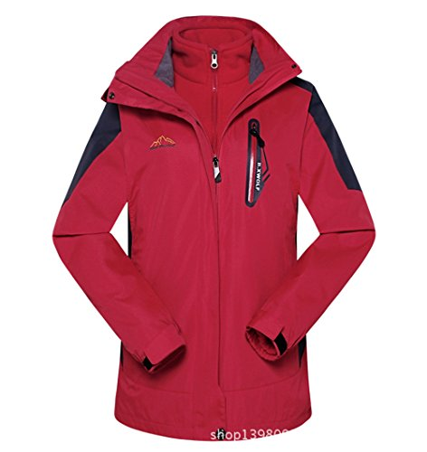 [Timeiya Women's Thicken Warm Jackets for Outdoor Activities Two Piece Suit Autumn&Winter] (Best Figure Skating Costumes)