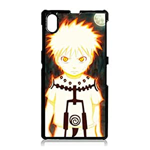 Amazing Style Cartoon Naruto Phone Case for Sony Xperia Z1 Nice Design Famous Anime Naruto Covers