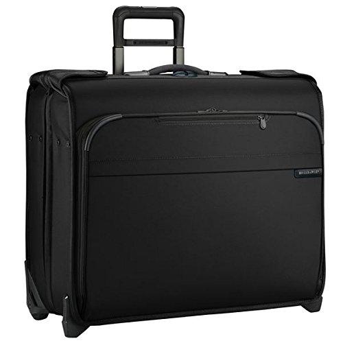Briggs & Riley Baseline Deluxe Wheeled Garment Bag, Black, Small -