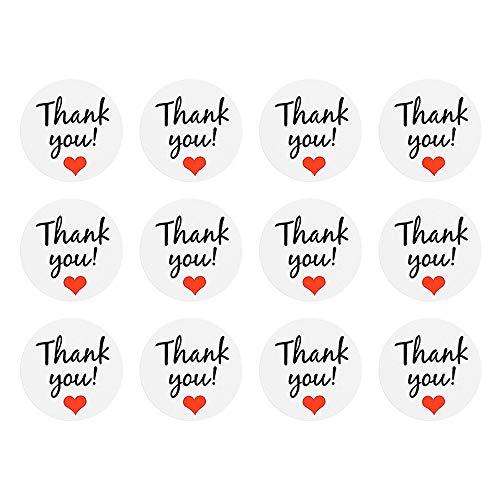 ❤SU&YU❤ Seals Paper Love Heart Stickers Wedding Favor Gift Label -