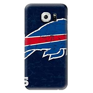 NFL Hard Case For Samsung Galaxy S6,Buffalo Bills Design Protective Phone S6 Covers,Fashion Samsung Cell Case
