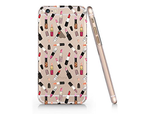 Lip Stick Pattern Slim Iphone 6 6S Case, Clear Iphone 6 6S Hard Cover Case For Apple Iphone 6 /6S -Emerishop (LA168.6sl)