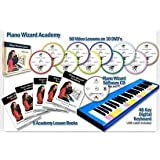 Piano Wizard Academy for PC and Mac with FREE Keyboard while supplies last.