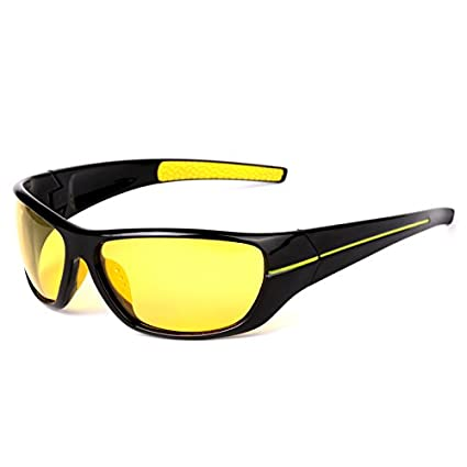 1020a9664f5 MOTELAN Yellow Lens Night Vision Polarized Driving Goggles - Professional  Sports Fishing Hunting Glasses Reduce Glare