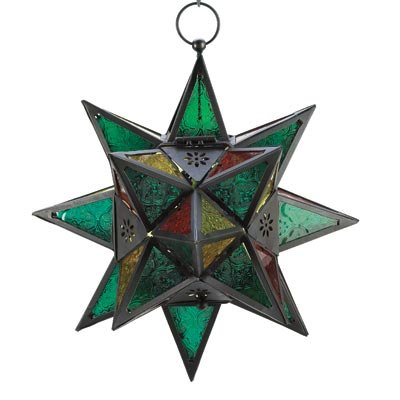 Moroccan Star - Moroccan Style Star Lantern #34690