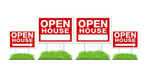 Open House Signs Stands Double Sided product image