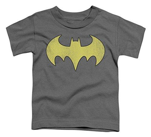 Toddler: Batman - Batgirl Logo Distressed Baby T-Shirt Size 3T