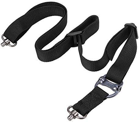 LIXADA サバゲー スリング タクティカルスリング スリングベルト ショルダーストラップ 調整可 2点支持
