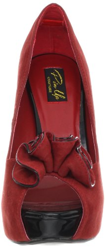 Shoes Pu USA LOLITA 10 Red Pleaser Suede qtwwCnS7Yx