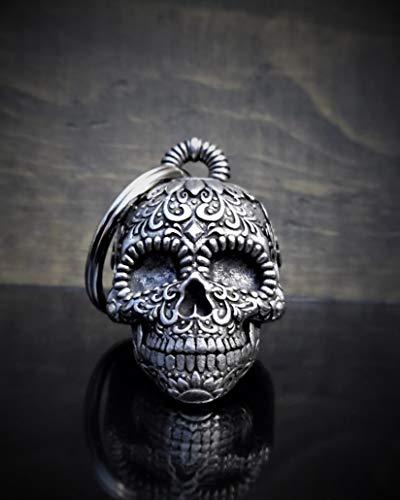 Sugar Skull 3-D Motorcycle Ride Bell