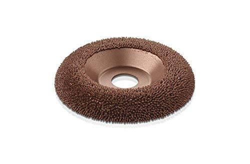 "Kutzall Original Shaping Dish - Very Coarse, Tungsten Carbide Coating: 4-1/2"" (114.3mm) Diameter x 7/8"" (22.2mm) Bore - DW412O550"