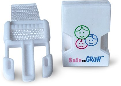 Safe to Grow - Chair Locks prevent toddlers from using kitchen chairs to climb....