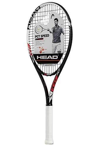 HEAD PCT Speed Tennis Racquet, Strung, 4 1/2 Inch - Racket Head