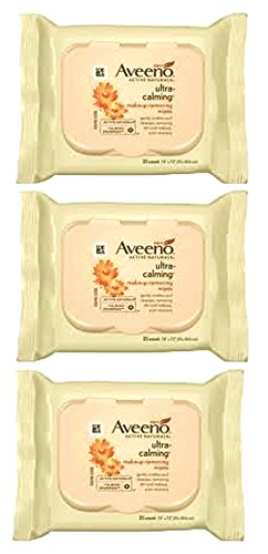 AVEENO Active Naturals Ultra-Calming Makeup Removing Wipes 2