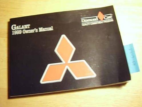 1999 mitsubishi galant owners manual mitsubishi amazon com books rh amazon com 1998 Mitsubishi Galant 1997 Mitsubishi Galant