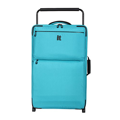 it luggage World's Lightest Los Angeles 28.9 Upright, Turquoise 2 Tone