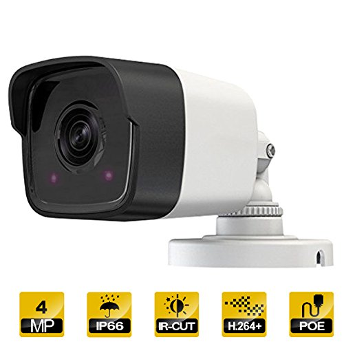 4MP PoE IP Camera Indoor/Outdoor Fixed Super Day/Night Vision
