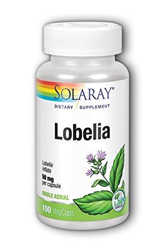 Lobelia 50mg Solaray 100 Caps