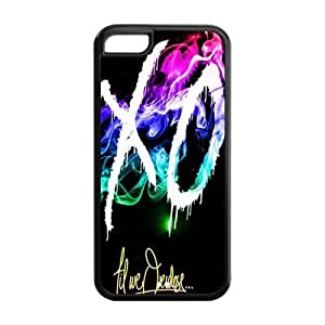 BESTER DIY Hard Snap-on Backcover Case for Iphone 5C- The Weeknd XO