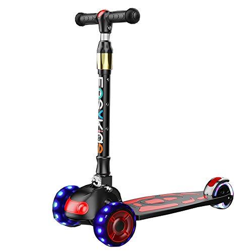 Amazon.com: LJHBC - Patinete de ruedas para niños (altura ...