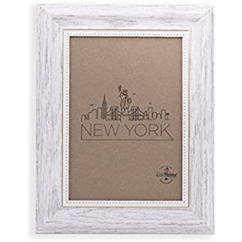 Amazoncom 4x6 Picture Frame White Mount Desktop Display Frames