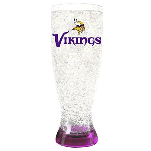- NFL Minnesota Vikings 16oz Crystal Freezer Pilsner
